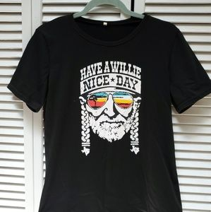 Tops - *4/$20* Have a Willie Nice Day t-shirt small